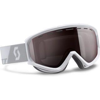 Scott Level, white/silver chrome - Skibrille