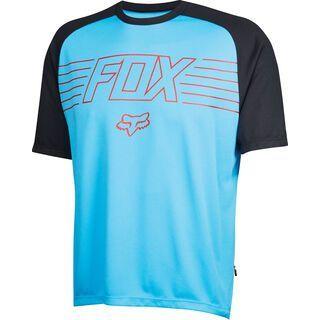 Fox Ranger Prints SS Jersey, cyan - Radtrikot