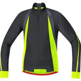 Gore Bike Wear Oxygen Thermo Trikot, black neon yellow - Radtrikot
