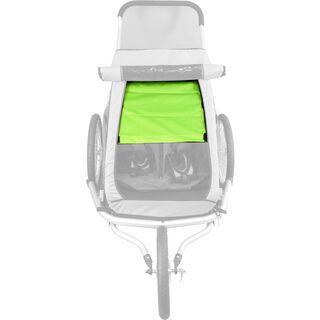 Croozer Sonnenschutz für Kid for 2 bis 2015, grün - Zubehör