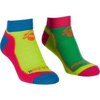 Ortovox Sports Rock'n'Wool Cool Socks, absolute green - Socken