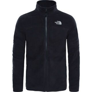 The North Face Mens 100 Glacier Full Zip, tnf black - Fleecejacke