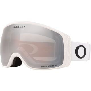 Oakley Flight Tracker XM Prizm, matte white/Lens: black iridium - Skibrille