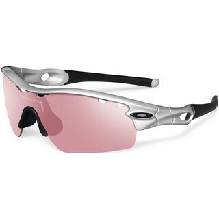 Oakley Radar Pitch Vented, Silver/G30 Iridium - Sportbrille