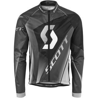 Scott AS RC Pro plus l/sl Shirt, grey/black - Radtrikot