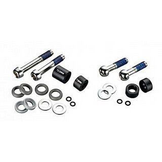 Avid Disc Adapter Standard/CPS 10 mm Postmount für 170 mm Rotor, vorn, Stahlschrauben, schwarz