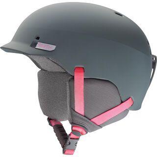 Smith Gage, mattete frost pink - Snowboardhelm