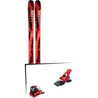 Set: Line Honey Badger 2019 + Tyrolia Attack² 16 GW red