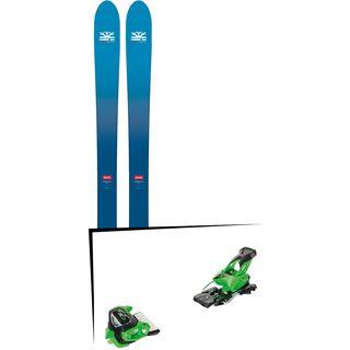 Set: DPS Skis Wailer F106 Foundation 2018 + Tyrolia Attack² 13 GW green