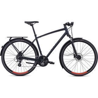 Specialized Crosstrail EQ - Black Top Collection 2019, black/red - Fitnessbike