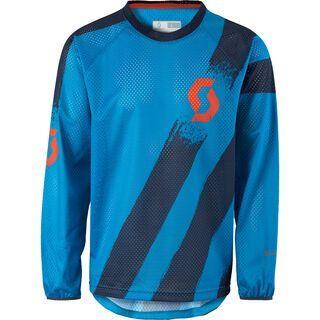 Scott Progressive 10 l/sl Shirt, diva blue/blue nights - Radtrikot