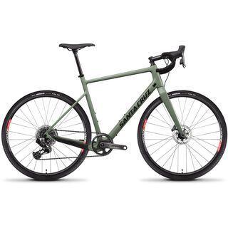 Santa Cruz Stigmata CC 700C Force AXS 2020, olive green - Gravelbike
