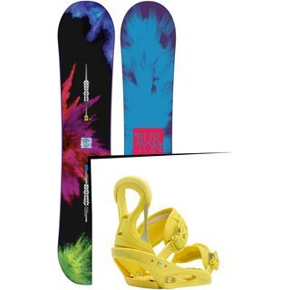 Set: Burton Social 2015 +  Stiletto (1191386S)