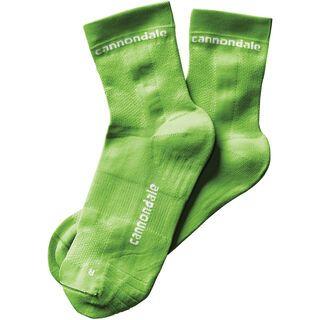 Cannondale Mid Socks, berzerker green - Radsocken