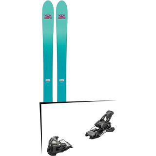 Set: DPS Skis Nina F99 Foundation 2018 + Tyrolia Attack 14 AT solid black