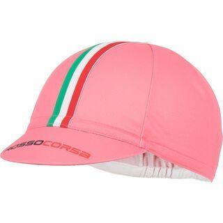 Castelli Rosso Corsa Cycling Cap, giro pink - Radmütze