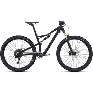 Specialized Woman's Camber FSR Base 650B 2017, black/black - Mountainbike