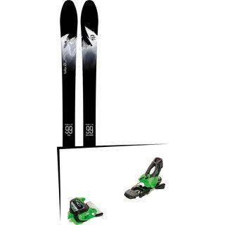 Set: Icelantic Sabre 99 2018 + Tyrolia Attack² 11 GW green