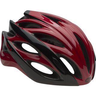 Bell Overdrive, red black hyperdrive - Fahrradhelm