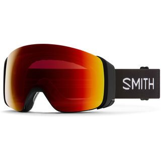 Smith 4D Mag inkl. WS, black/Lens: cp sun red mir - Skibrille