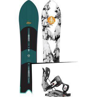 Set: Burton Skipjack Surf 2017 + Flow Fuse (1513142S)