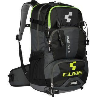 Cube Rucksack AMS 30+5, black´n´green - Fahrradrucksack