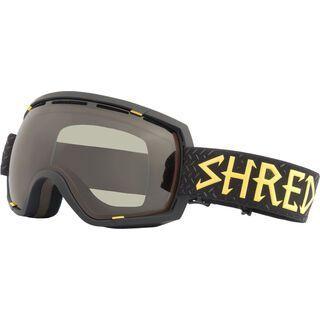 Shred Stupefy, walnuts/Lens: cbl green - Skibrille
