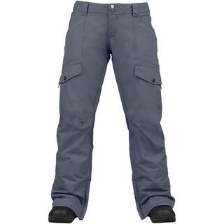 Burton Womens Lucky Pant, Steel Blue - Snowboardhose