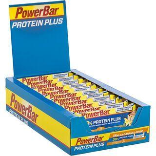 PowerBar Protein Plus 30% - Vanilla-Caramel-Crisp (Box) - Proteinriegel