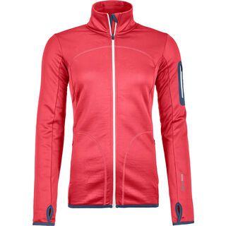Ortovox Merino Fleece Jacket W, hot coral - Fleecejacke