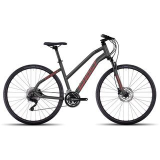 Ghost Square Cross 6 W 2017, grey/red - Fitnessbike