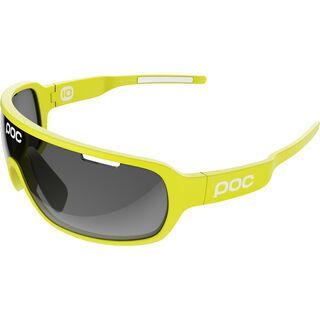 POC DO Blade Team Cannondale inkl. Wechselscheibe, yellow/Lens: black - Sportbrille