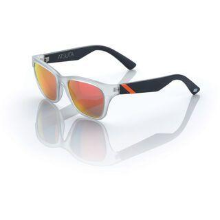 100% Atsuta, grey orange/Lens: mirror orange - Sonnenbrille