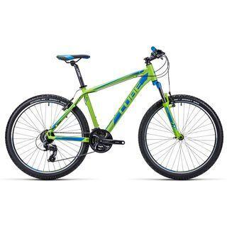 Cube Aim 26 2015, blue/lime - Mountainbike