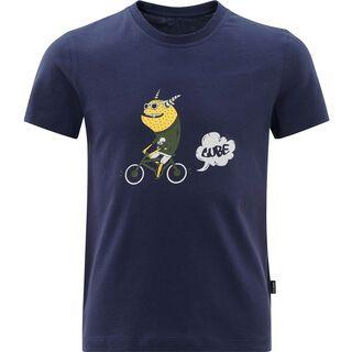 Cube Junior Organic T-Shirt Monster dark blue