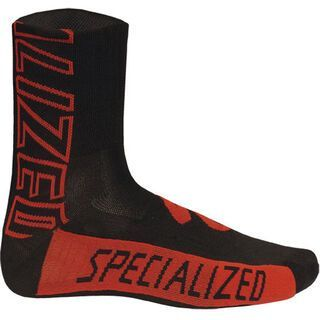 Specialized Authentic Team Sock, Black/Red - Radsocken