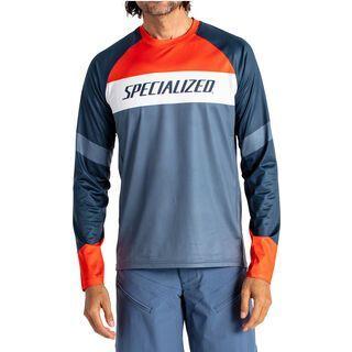 Specialized Demo Pro Longsleeve Jersey, storm grey/cast blue - Radtrikot