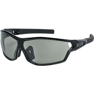 Scott Leap Full Frame, black glossy/grey light sensitive - Sportbrille
