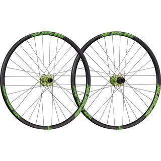 Spank Spike Race 33 Wheelset 26, black/emerald green - Laufradsatz