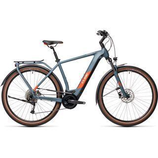 Cube Kathmandu Hybrid ONE 500 2021, blue´n´red - E-Bike