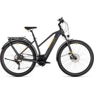 *** 2. Wahl *** Cube Kathmandu Hybrid Pro 625 Trapeze 2020, grey´n´orange - E-Bike   Größe 54 cm