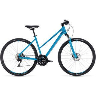 Cube Nature EXC Trapeze 2018, blue´n´blue - Fitnessbike