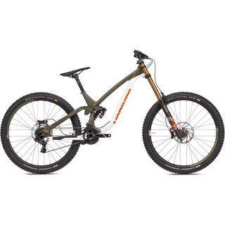 NS Bikes Fuzz 29 2019, white/armygreen - Mountainbike