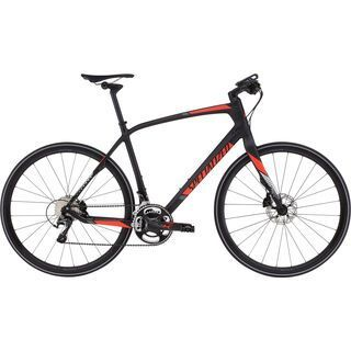Specialized Sirrus Pro Carbon Disc 2016, carbon/red - Fitnessbike