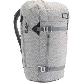 Burton Lumen Pack, grey heather diamond ripstop - Rucksack