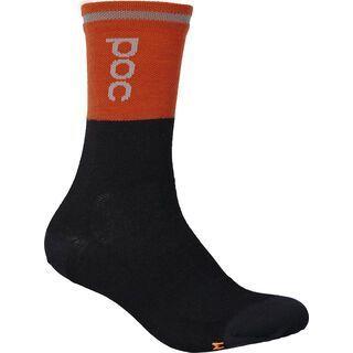 POC Thermal Sock sylvanite grey/uranium black
