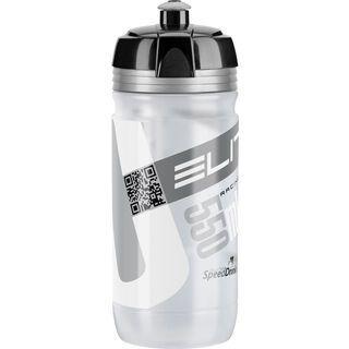 Elite Corsa, transparent/silber - Trinkflasche