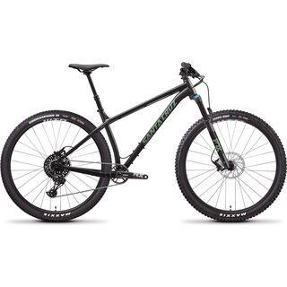 *** 2. Wahl *** Santa Cruz Chameleon AL R 29 2020, black/green - Mountainbike   Größe M // 42 cm