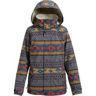 Burton Women's Jet Set Jacket, tahoe freya weave - Snowboardjacke