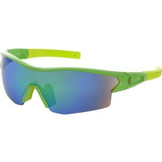Scott Leap, green matt green chrome - Sportbrille